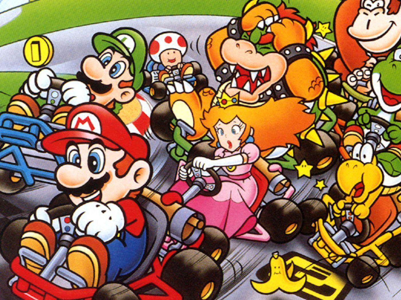 Super Mario Kart WK