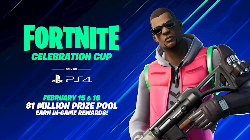 Fortnite Celebration Cup: PS4